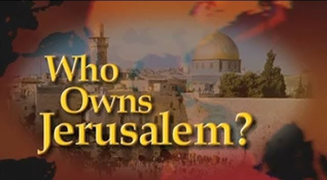 Who Owns Jerusalem?