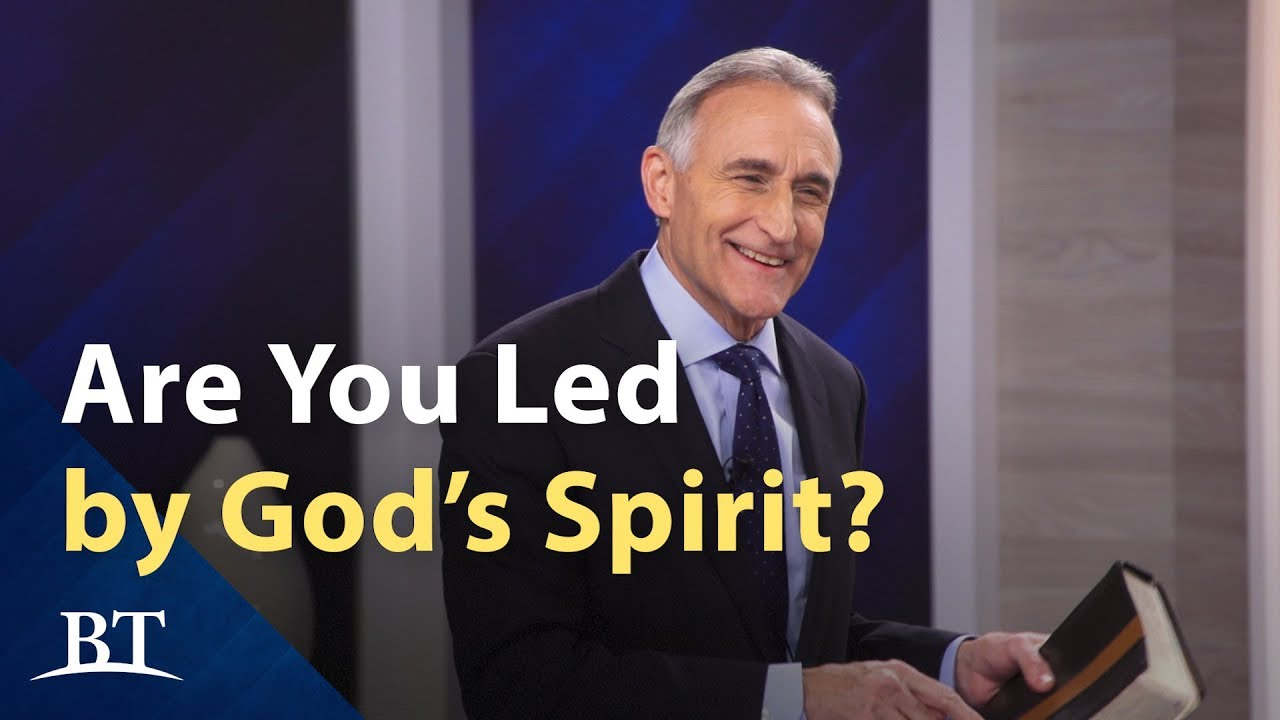 Are You Led by God's Spirit?