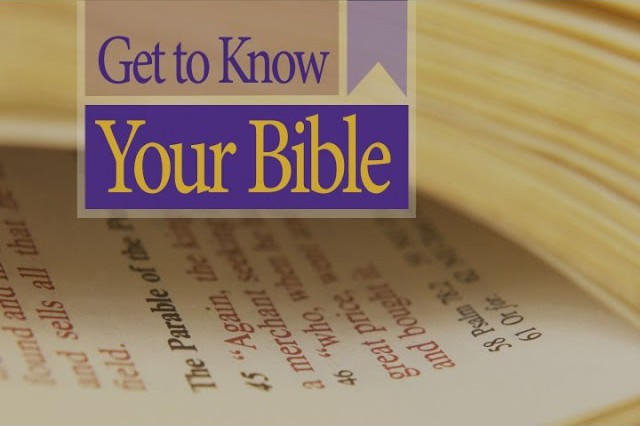 Get to Know Your Bible