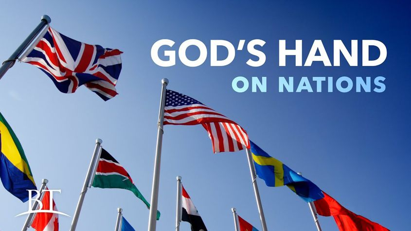 God's Hand on Nations