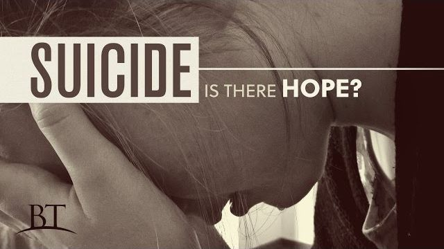 Suicide: Is There Hope?