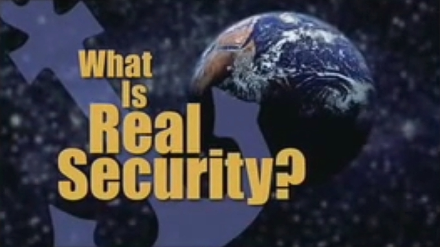What Is Real Security?